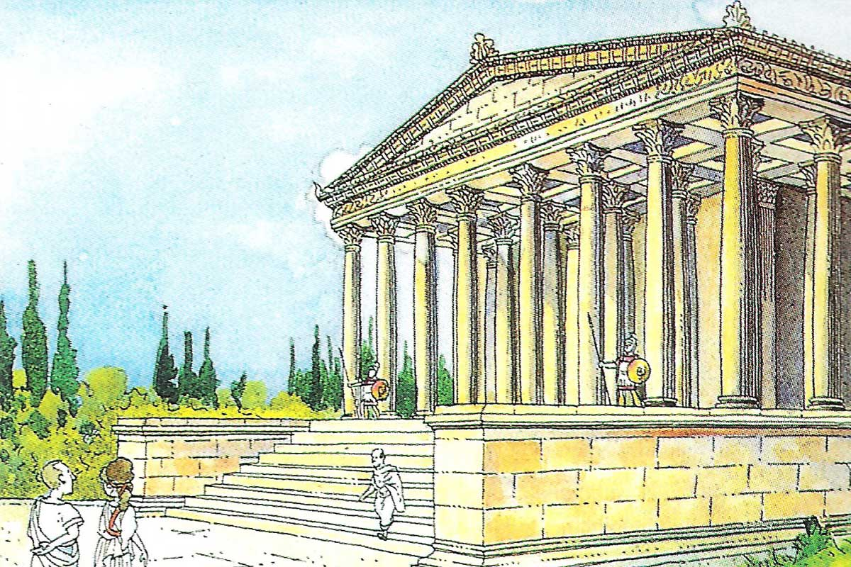 temple d'august tarraco visita guiada itinere didactica